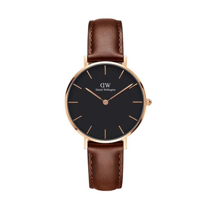 Daniel Wellington Classic Black St Mawes 36mm Rose