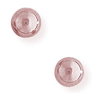 9ct Rose Gold 5mm Ball Stud Earrings