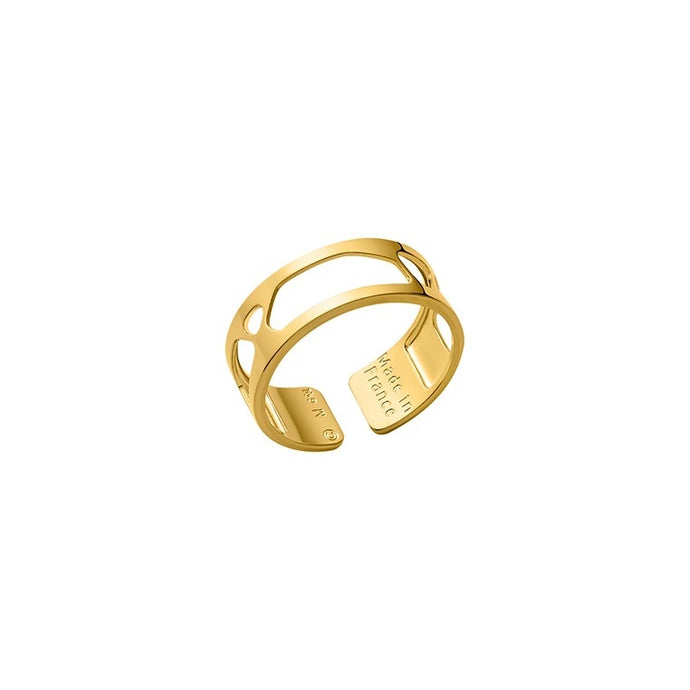 Les Georgettes Les Essentielles Girafe 8mm Ring Gold