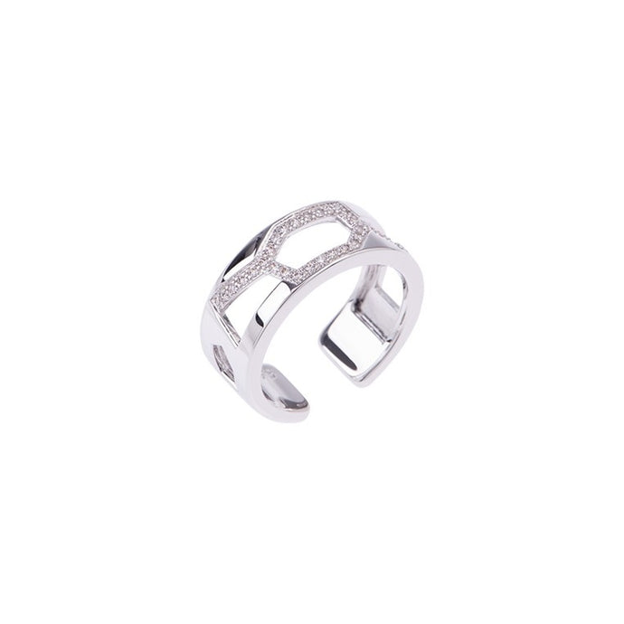 Les Georgettes Les Précieuses Girafe 8mm Ring Silver