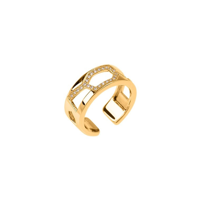 Les Georgettes Les Précieuses Girafe 8mm Ring Gold