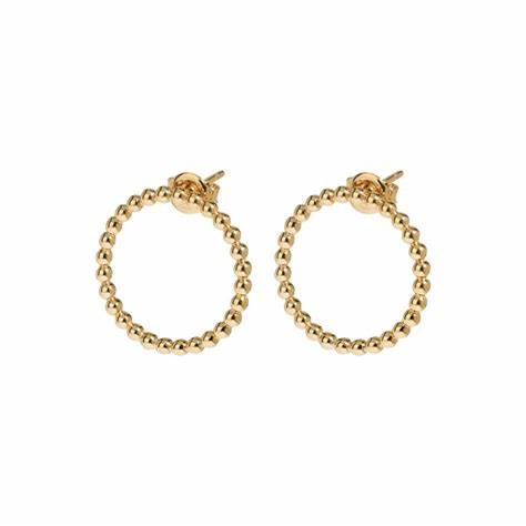 CLUSE Essentielle Gold Open Circle Earrings
