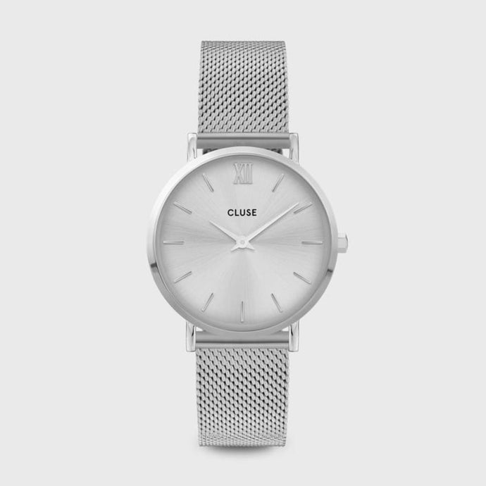 CLUSE Minuit Mesh Silver/Silver