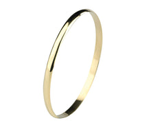 Load image into Gallery viewer, 9ct Gold Classic Solid Polished Bangle 4.75mm