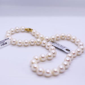 Cultured Freshwater Pearl Necklace - 10mm|45cm