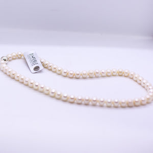 Cultured Freshwater Pearl Necklace - 7-8mm|42cm