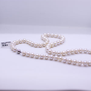 Cultured Freshwater Pearl Necklace - 8-9mm|24""