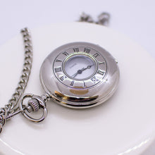 Load image into Gallery viewer, Silver Half Hunter Pocket Watch
