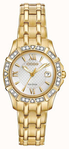 Citizen Gold and Diamond Ecodrive Ladies Watch