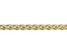 Load image into Gallery viewer, 9ct Gold Heavy Braided Curb Bracelet