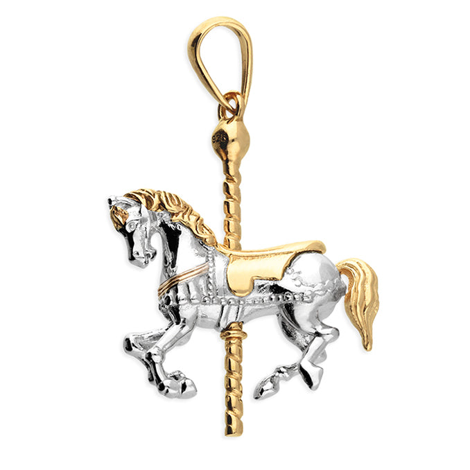SUNSHINE Carousel Pony Necklace