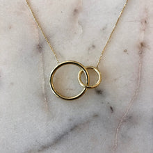9ct Yellow Gold Unity Necklace