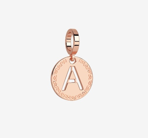REBECCA MyWorld Letter Necklace - Rose|Small Initial