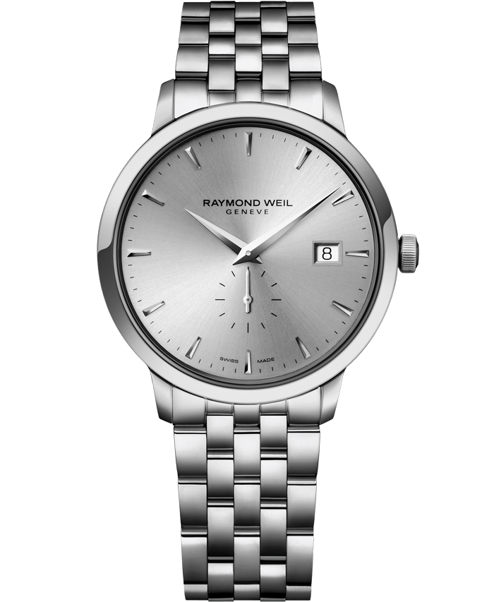 Raymond Weil TOCCATA 39mm Steel with small second