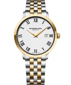 Raymond Weil TOCCATA 39mm Steel & Yellow