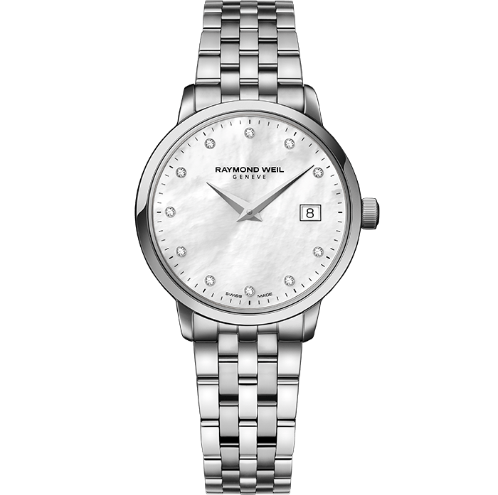 Raymond Weil Lady TOCCATA 29mm Steel, 11 diamonds