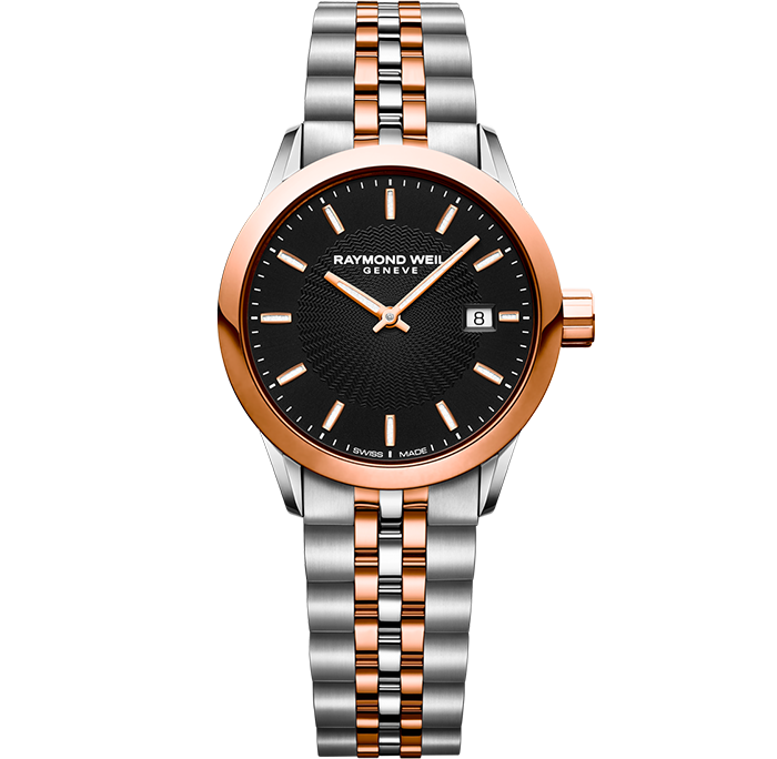 Raymond Weil Lady FREELANCER Rose & Steel