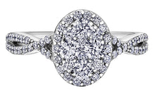 18ct White Gold Estoria Engagement Ring