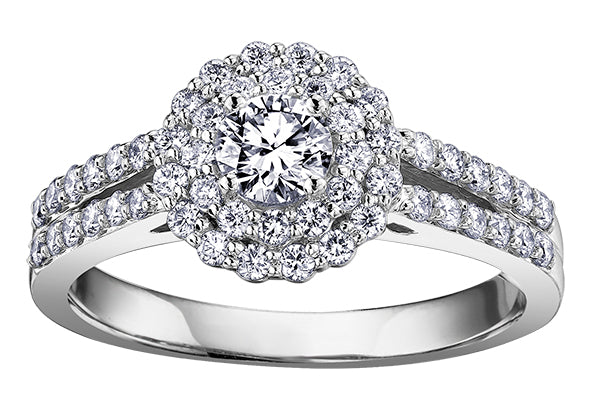 18ct White Gold Kate Engagement Ring