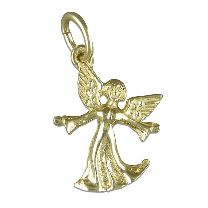9ct Gold Angel Necklace