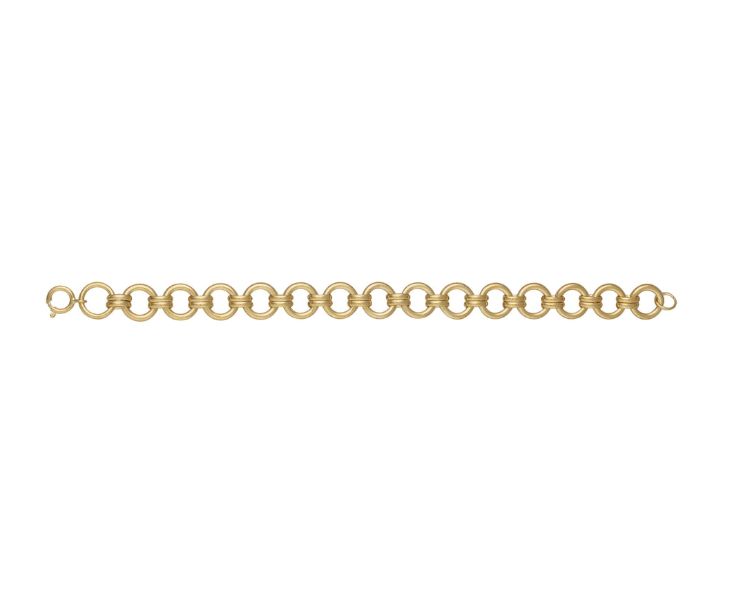 9ct Gold Heavy Rio Bracelet