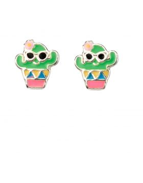 Funny Cactus Earrings