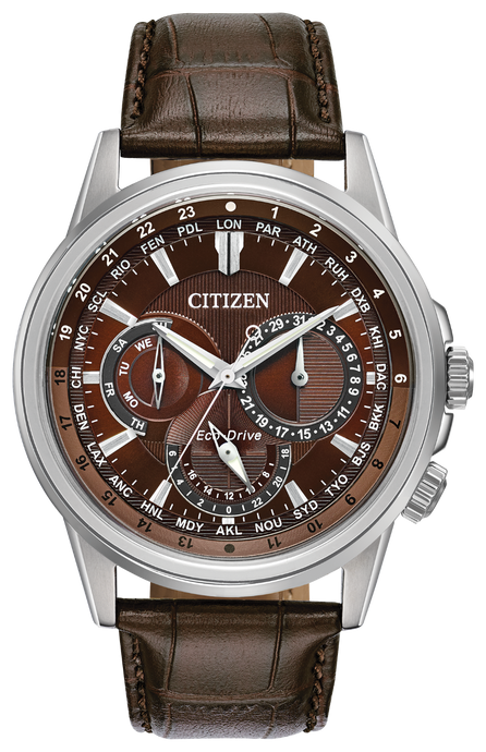 Citizen Calendrier Leather Watch