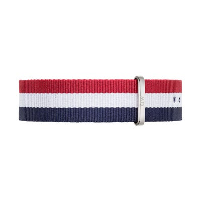 Daniel Wellington Strap Classic 20mm Cambridge Silver