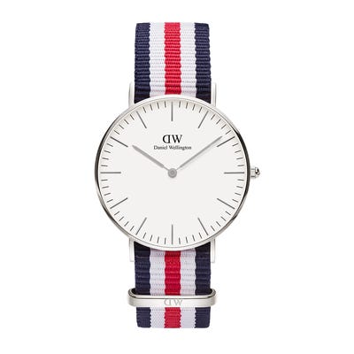 Daniel Wellington Watch Classic 36 Canterbury Silver White