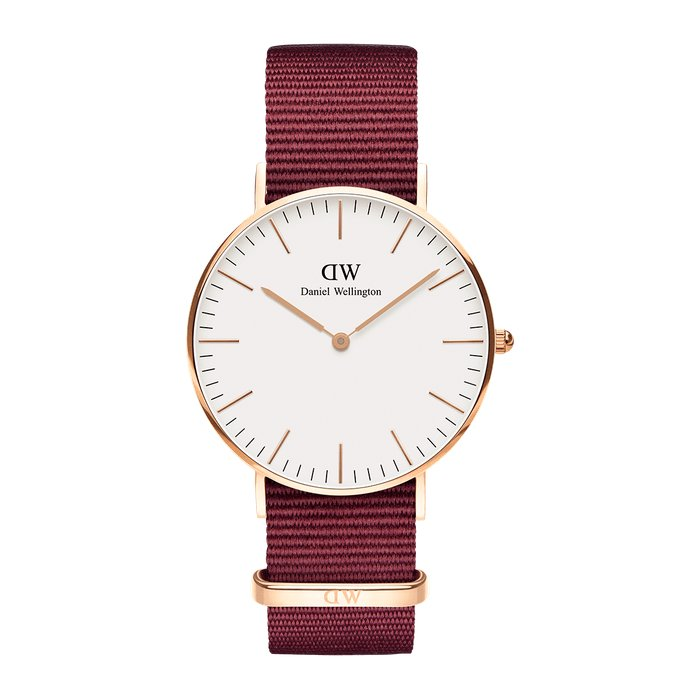 Daniel Wellington Watch 36mm Roselyn Rose White