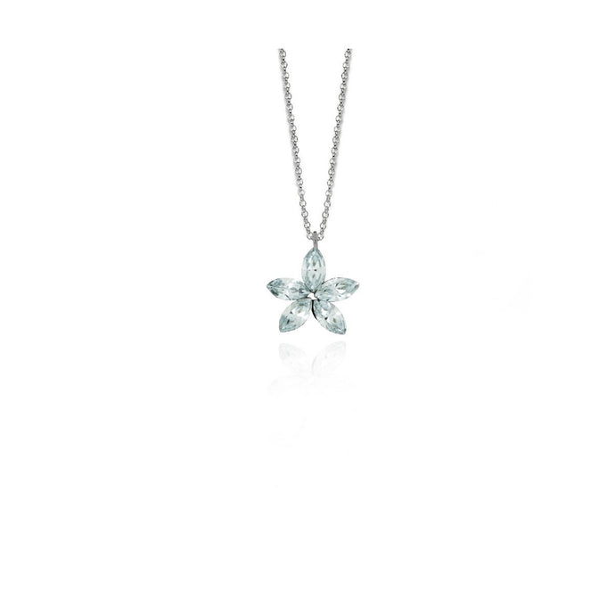 Victoria Cruz Snowflake Necklace