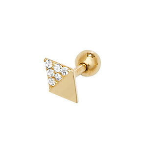 Ear Candy 9ct Gold Diamond Cartilage Stud