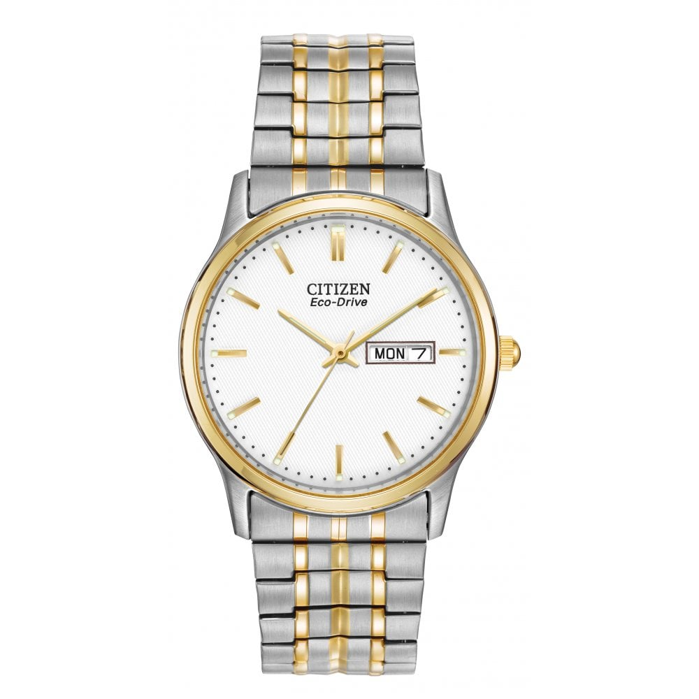 Citizen Two-Tone Ecodrive Expandable Watch