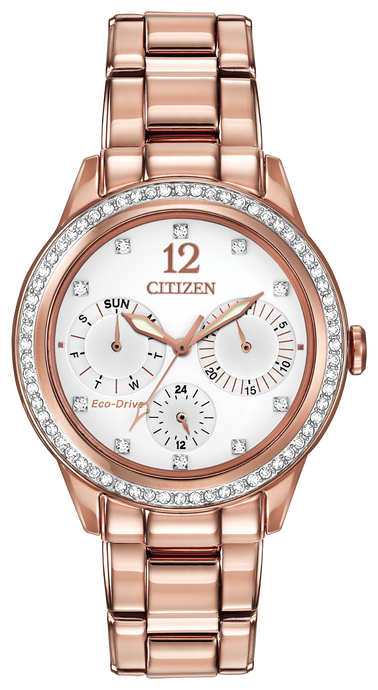 Citizen Rose Gold Ecodrive Ladies Watch