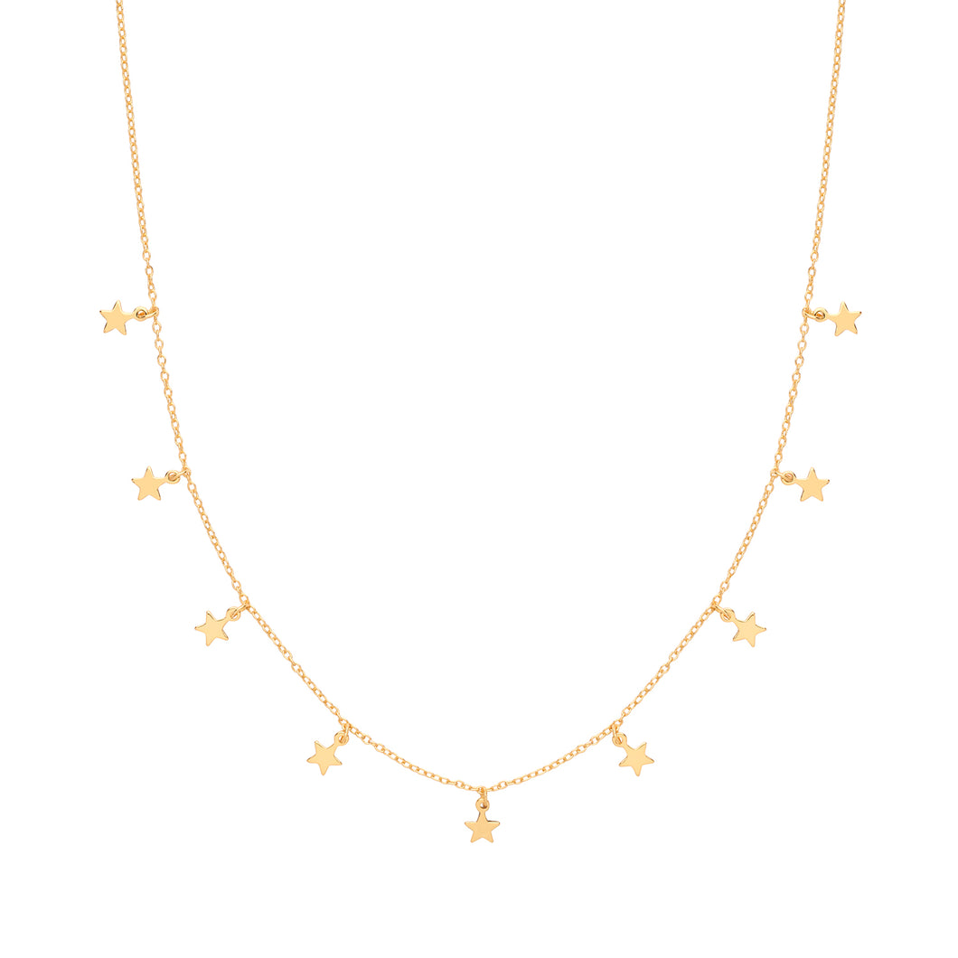 SUNSHINE Star Charms Necklace