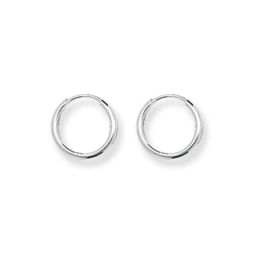 Silver 11mm Sleeper Earrings