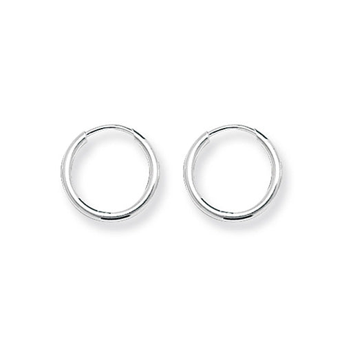 Silver 13mm Sleeper Earrings