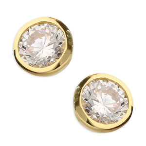 SUNSHINE CZ Stud Earrings