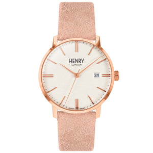 HENRY Regency Suede Pink 40mm