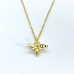 SUNSHINE Bee Necklace - Gold