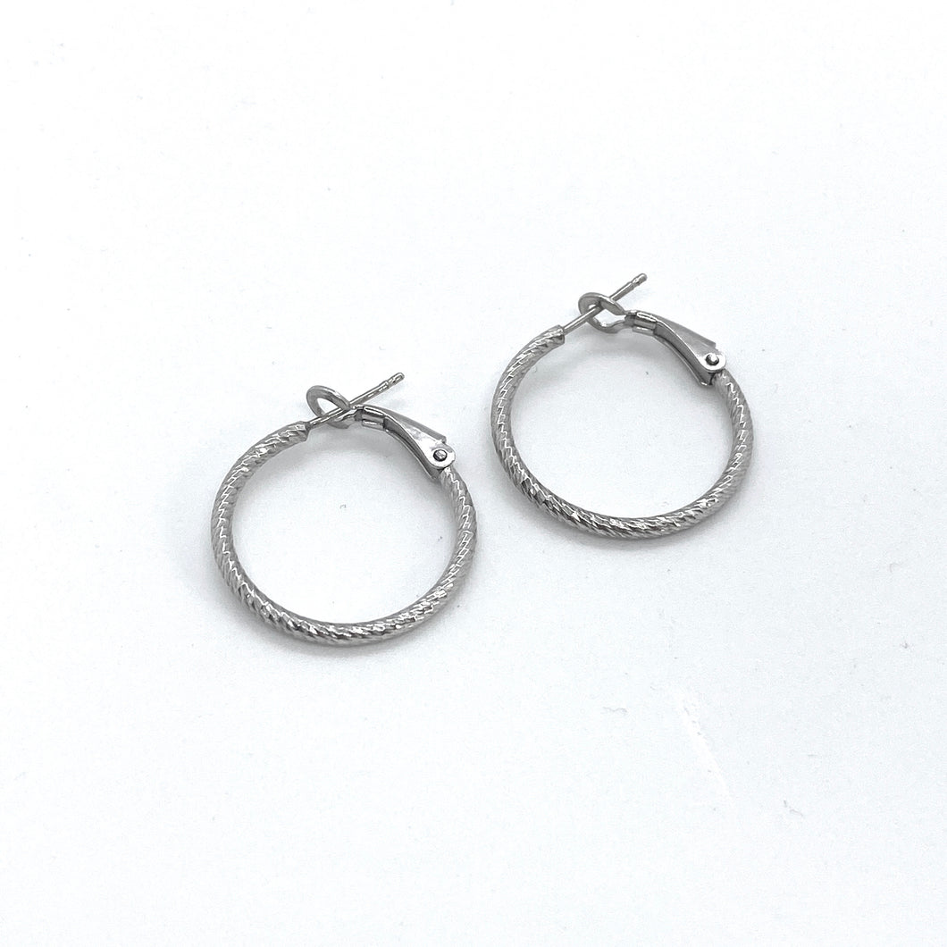 SUNSHINE 20mm Hoop Earrings