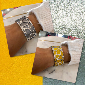 Les Georgettes Girafe 25mm Silver with Sun / Silver