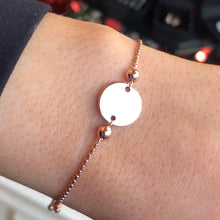 Load image into Gallery viewer, Sunshine Identity Bracelet - Rose Round