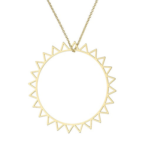 SUNSHINE Large Sun Necklace