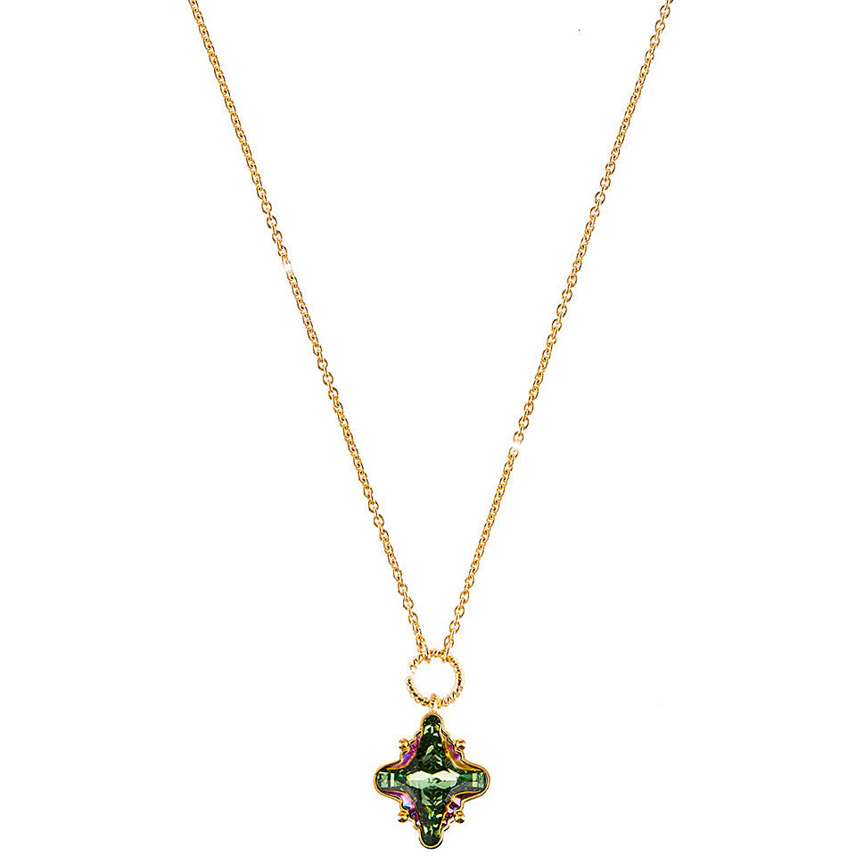 REBECCA London Crystal Long Necklace