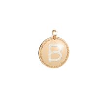 Load image into Gallery viewer, REBECCA MyWorld Letter Necklace - Gold Glam|Medium-Large Initial