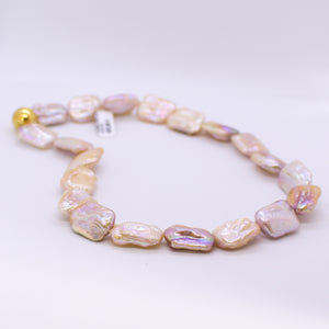 Baroque Cultured Freshwater Pearl Necklace