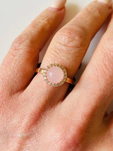 Load image into Gallery viewer, REBECCA Hollywood Pink Halo Ring