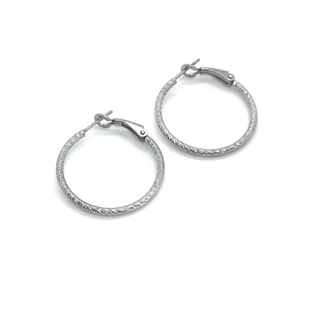 SUNSHINE 25mm Hoop Earrings