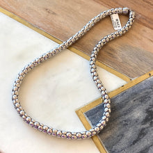 Load image into Gallery viewer, Silver Popcorn Necklace